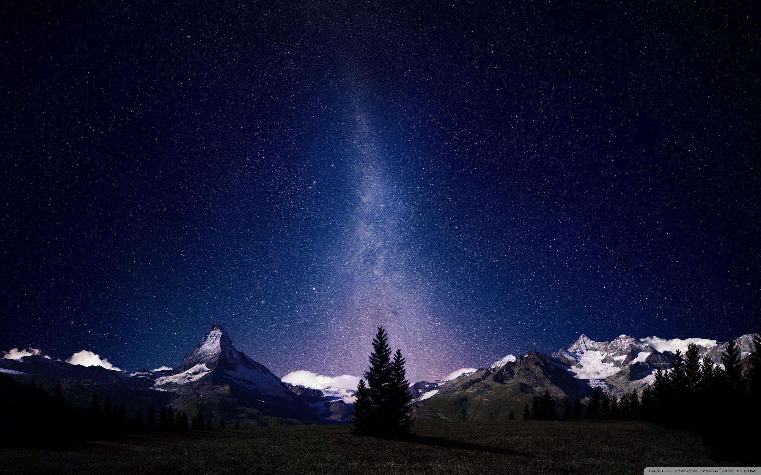 Beautiful Night Sky Wallpapers Wallpaper Cave
