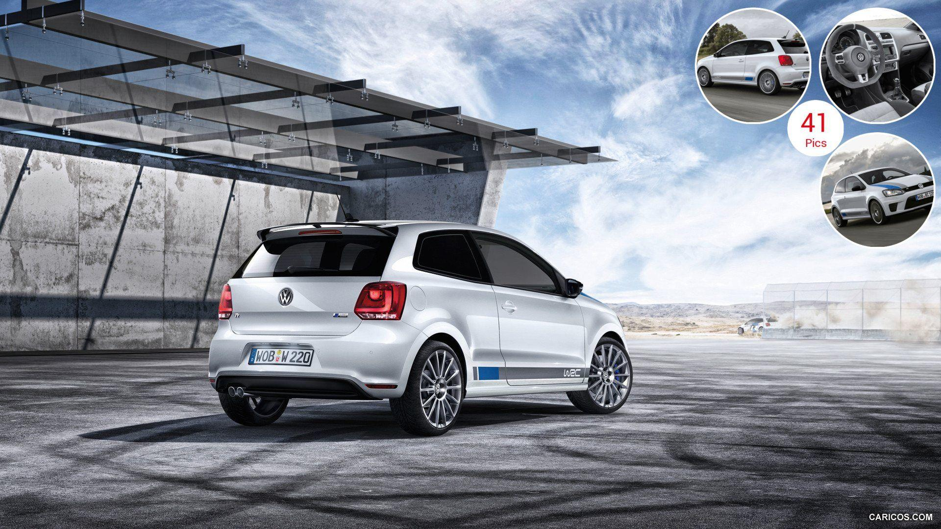 2013 Volkswagen Polo R WRC - Rear | HD Wallpaper #36