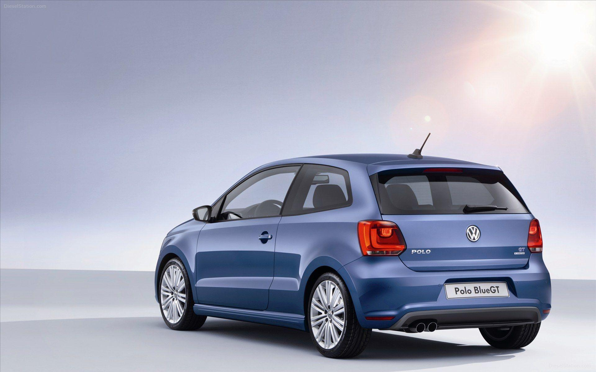 Volkswagen Polo Blue GT 2013 Widescreen Exotic Car Wallpaper #03 of ...