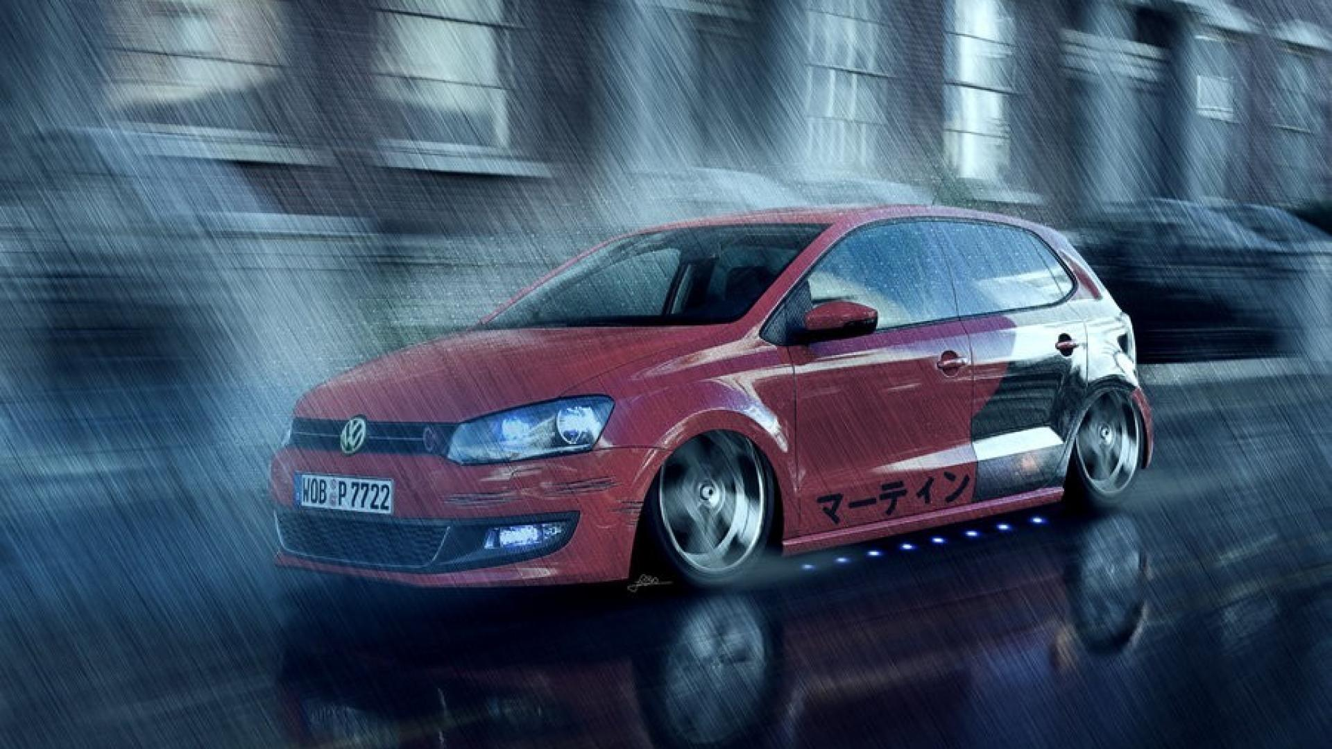 Cars tuning 3d virtual polo wallpaper | (7731)