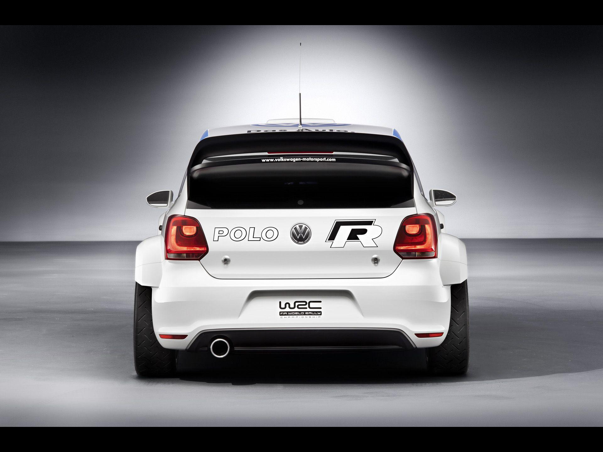 2011 Volkswagen Polo R WRC Concept - Rear - 1920x1440 - Wallpaper