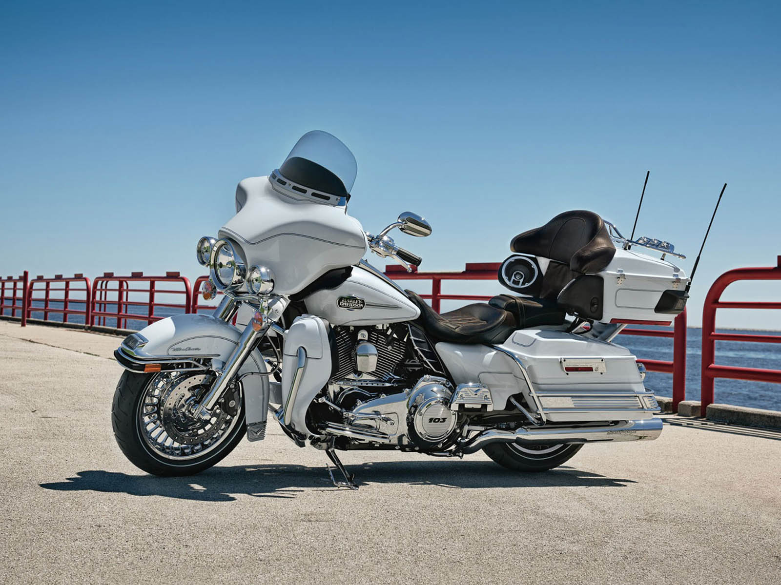 Harley Electra Glide Wallpapers Wallpaper Cave