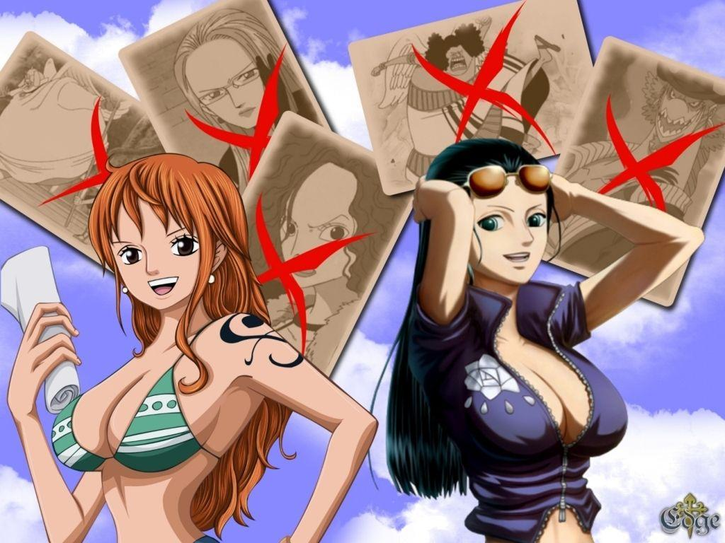 One Piece Nami Wallpapers Wallpaper Cave
