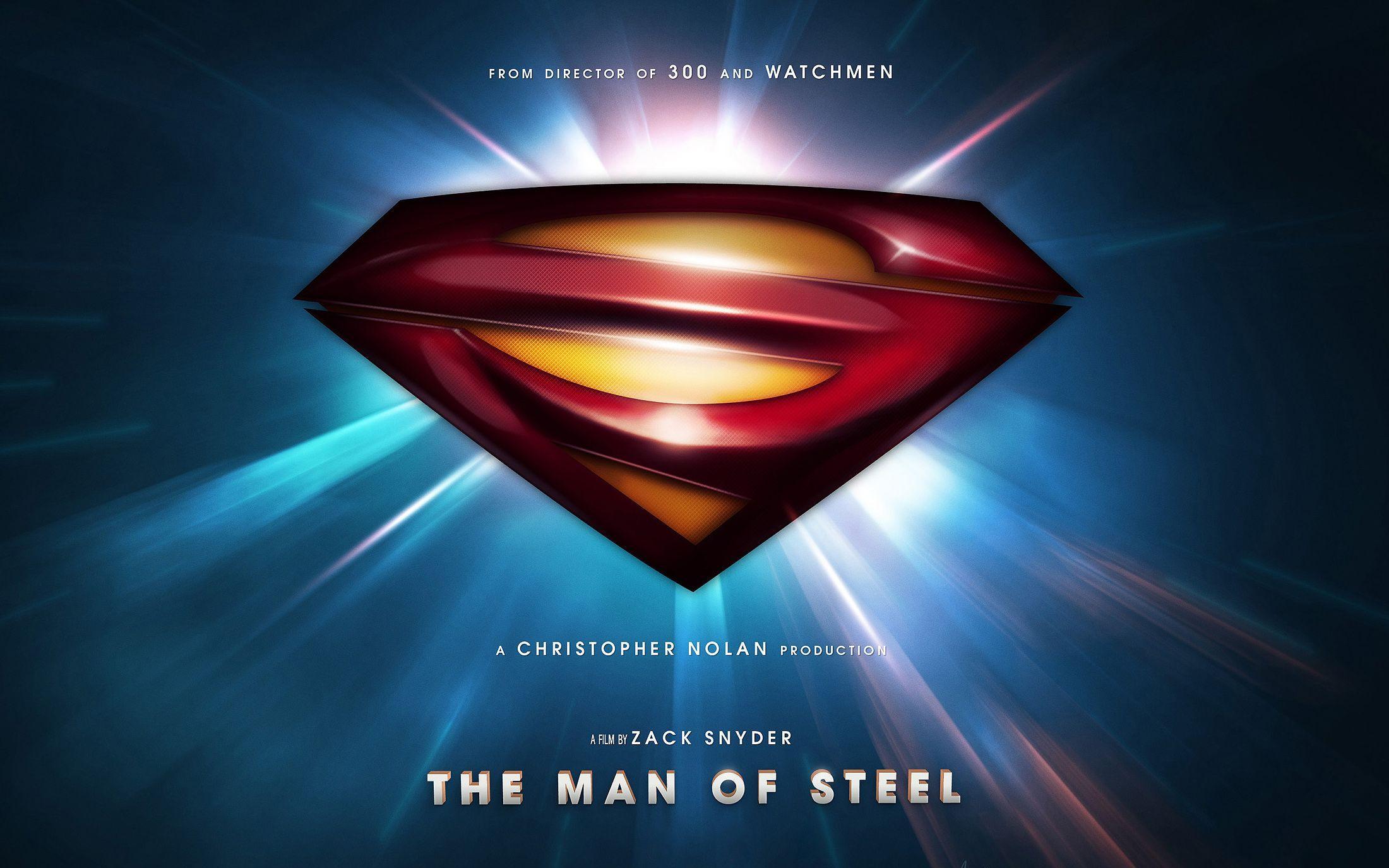 Superman Man Of Steel Wallpapers 3d Wallpaper Cave