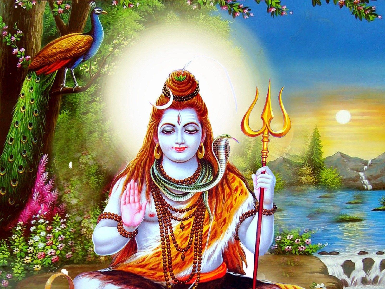 Lord Shiva Wallpaper: Lord Shiva 3D Wallpapers