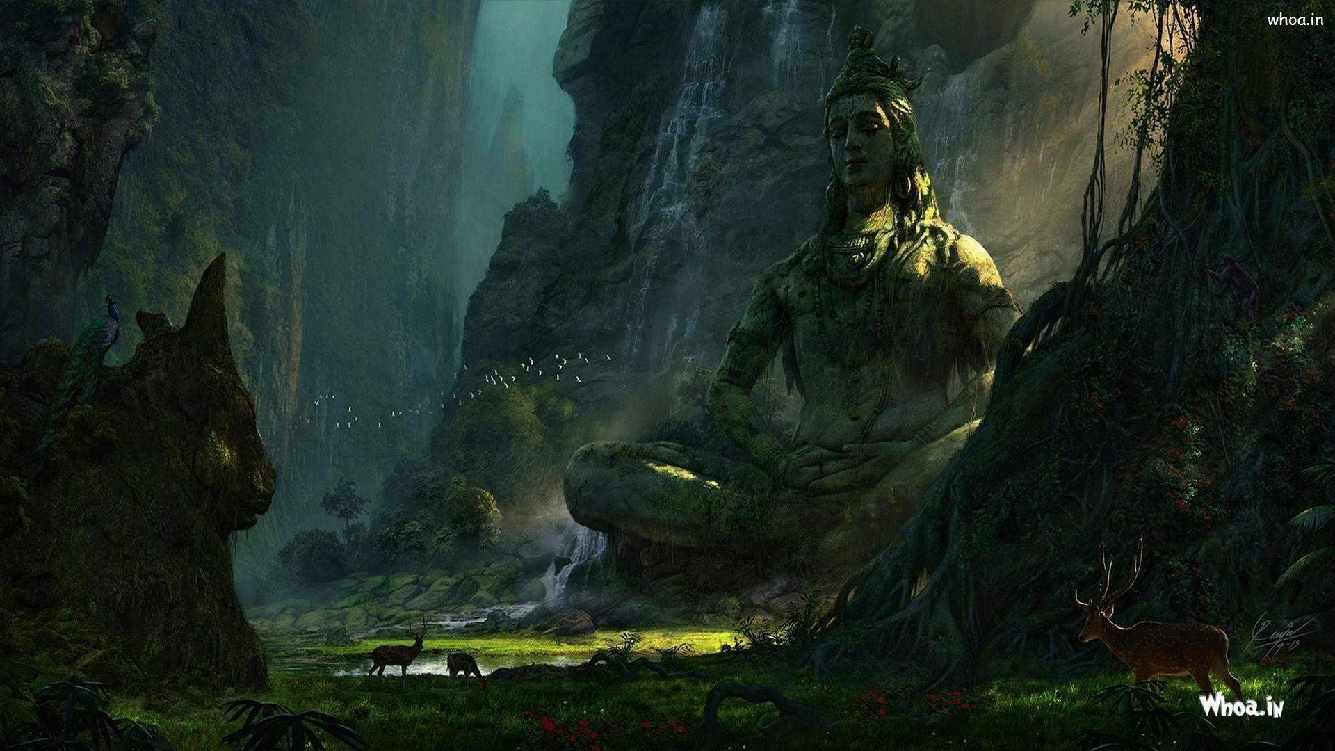 Lord Shiva Desktop Wallpapers Hd: Lord Shiva 3D Wallpapers
