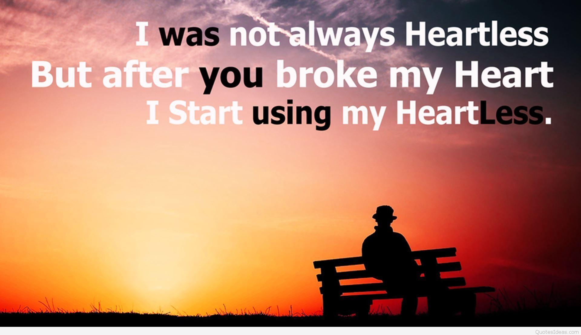 Wallpapers With Broken Heart Quotes Wallpaper Cave