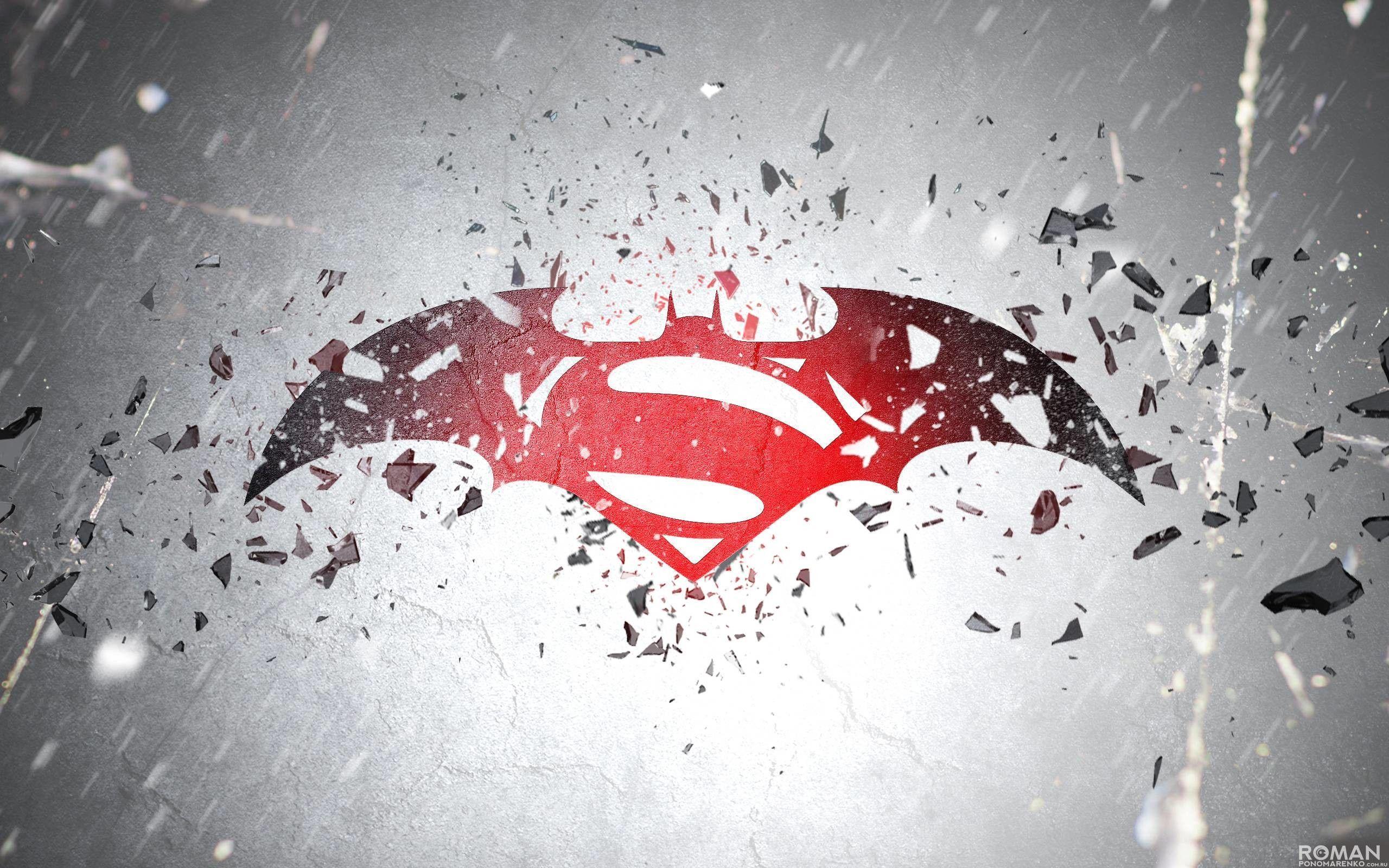 batman superman logo wallpapers wallpaper cave