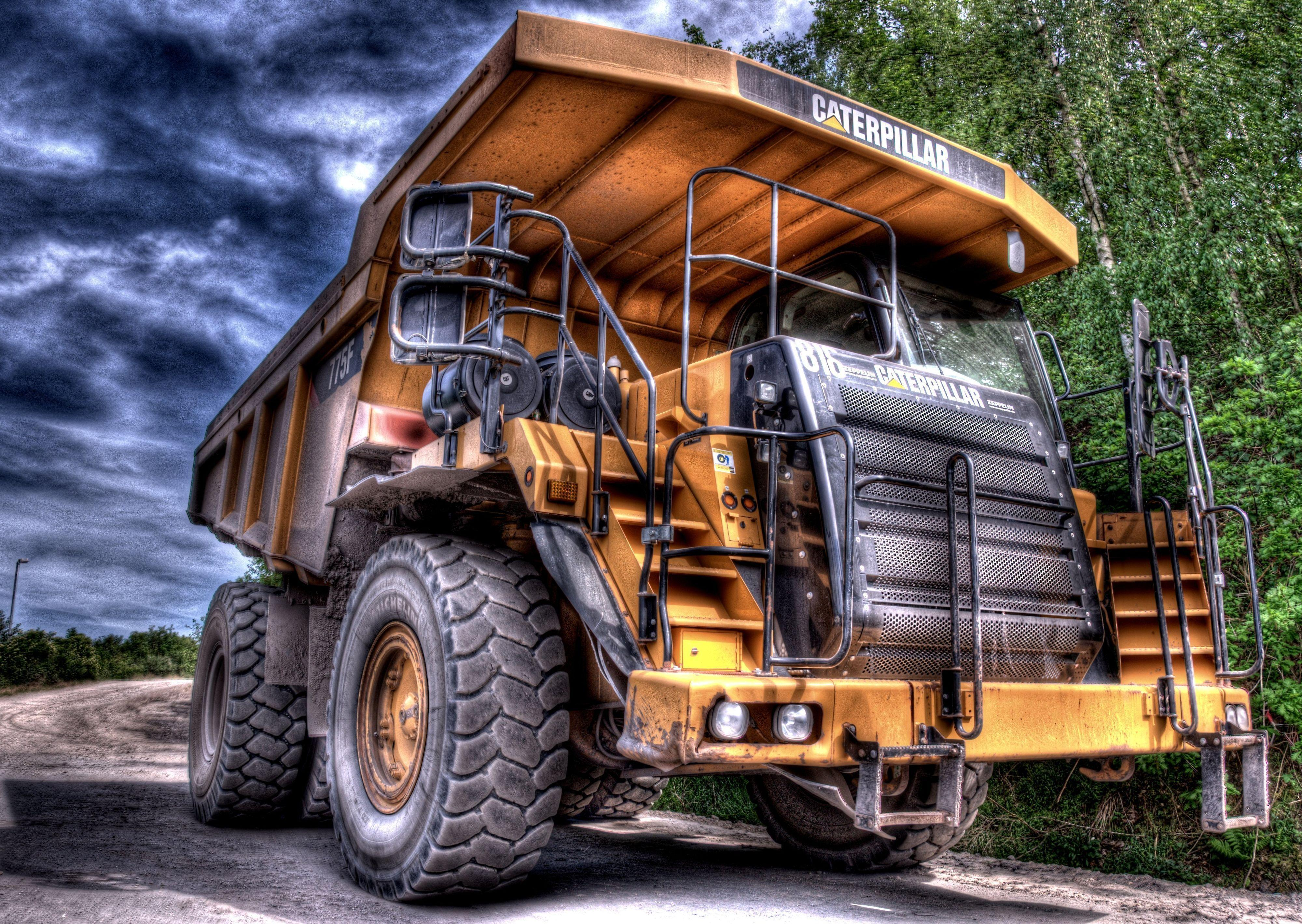Full hd lorry and caterpillar wallpapers wallpaper cave - Mining images hd ...