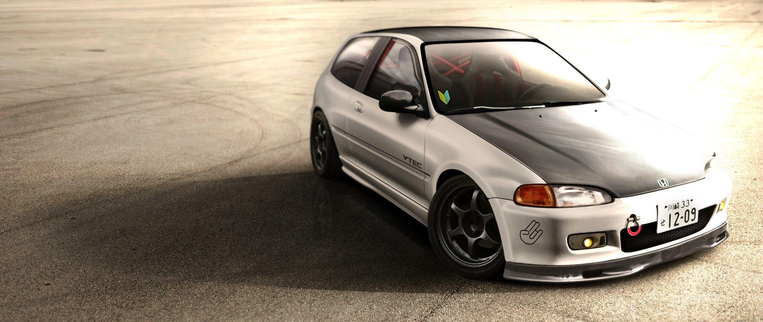 honda civic eg hatch wallpapers - wallpaper cave