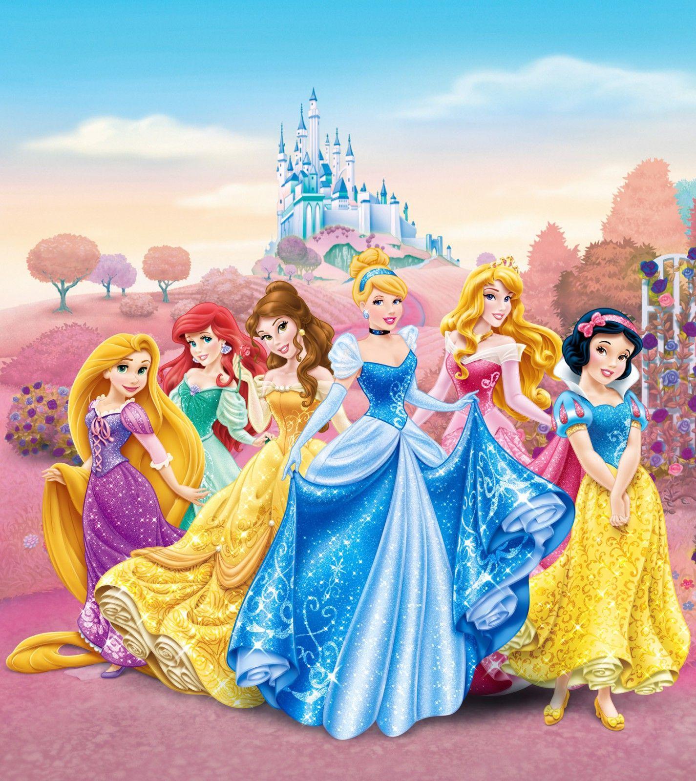 Картинка с принцессами диснея хорошего качества, фразочки картинками два