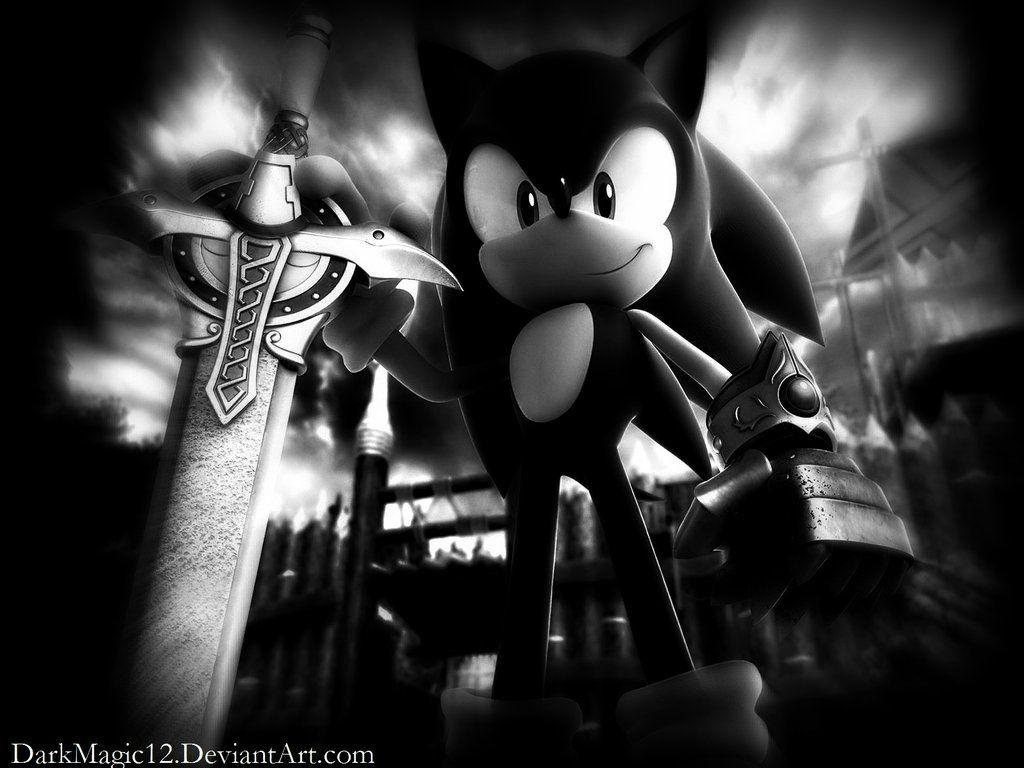 Sonic Black Wallpapers Wallpaper Cave