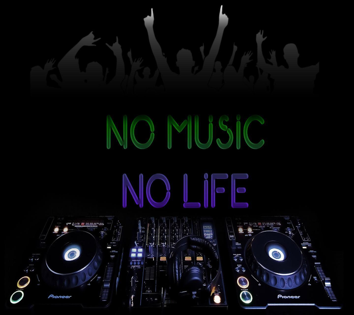 No music no life wallpapers hd wallpaper cave - Music is life hd ...