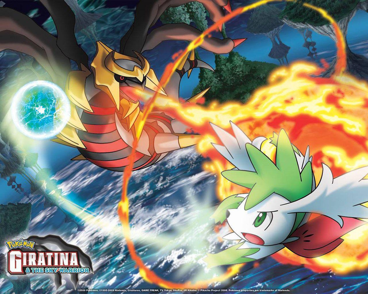Pokémon images Sky Shaymin and Giratina HD wallpaper and background ...