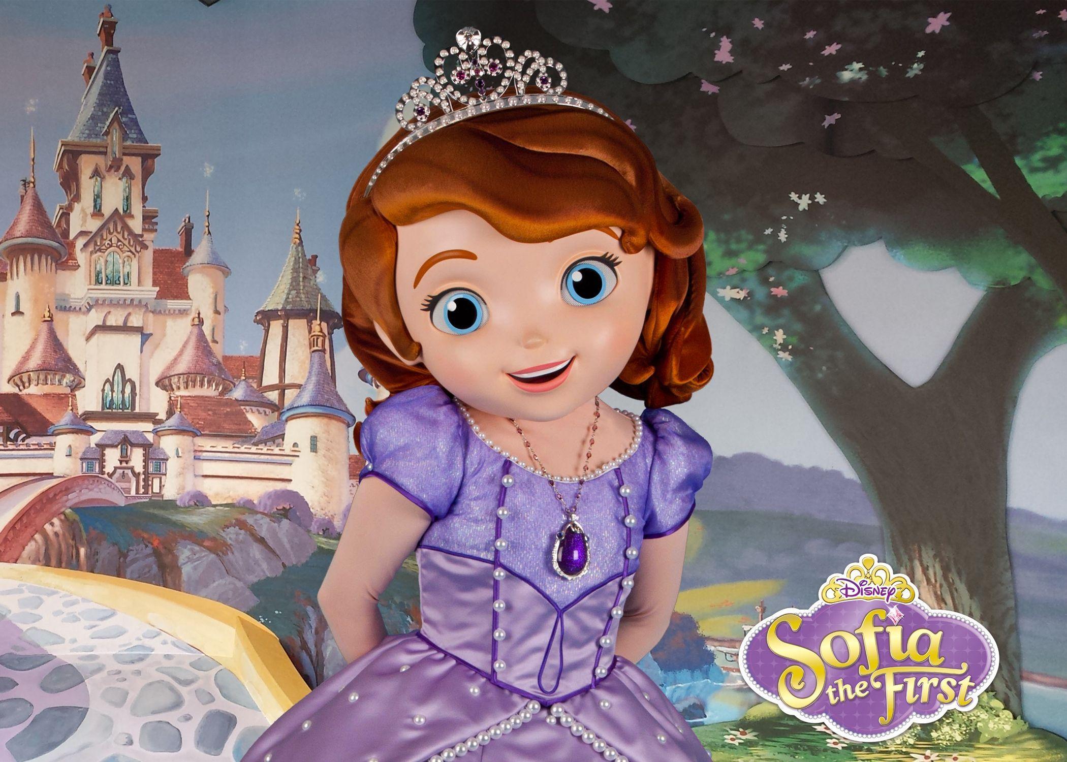 Картинка с принцессой софией
