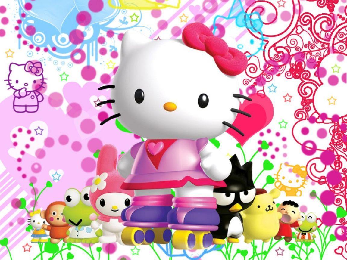 Unduh 870  Gambar Animasi Lucu Hello Kitty  Free