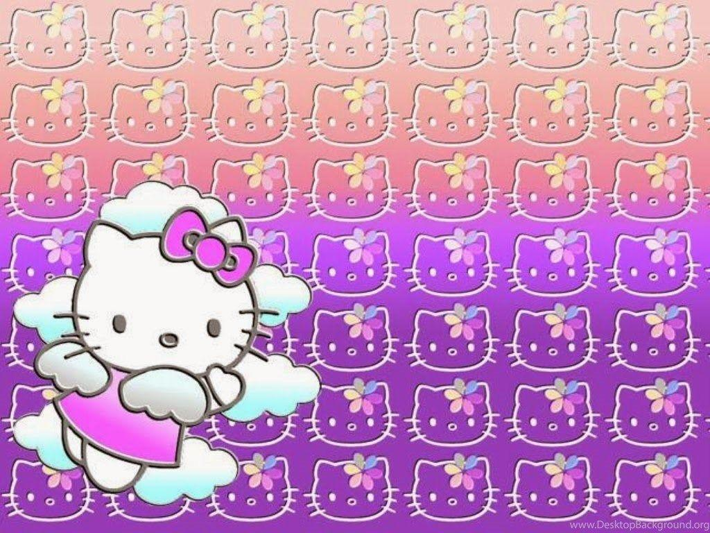 Hello Kitty Wallpapers Ungu Terbaru Wallpaper Cave