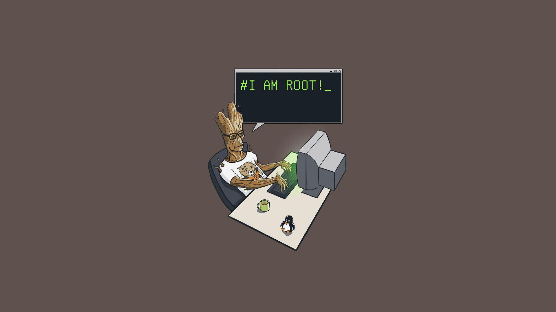 Groot I Am Root, HD Computer, 4k Wallpapers, Image, Backgrounds