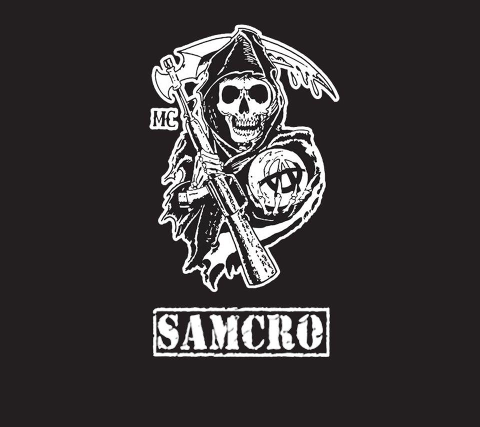 Sons Of Anarchy Logo Wallpapers Wallpaper Cave