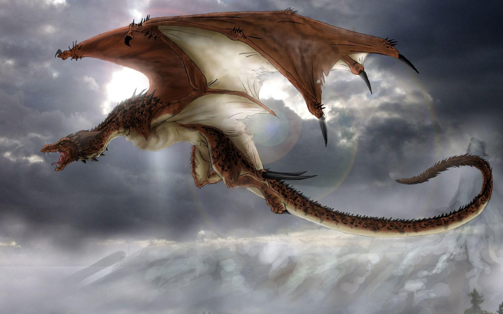 20 free and stunning dragon wallpaper collection - HD 1366×768
