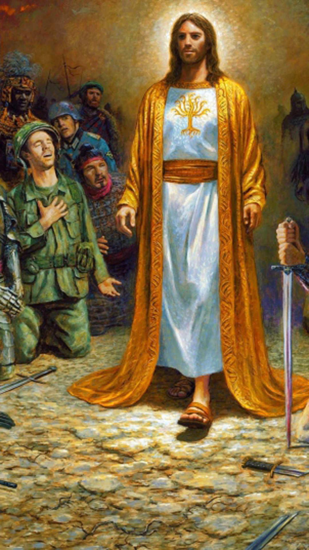 Jesus Wallpapers For Mobile Phones Wallpaper Cave