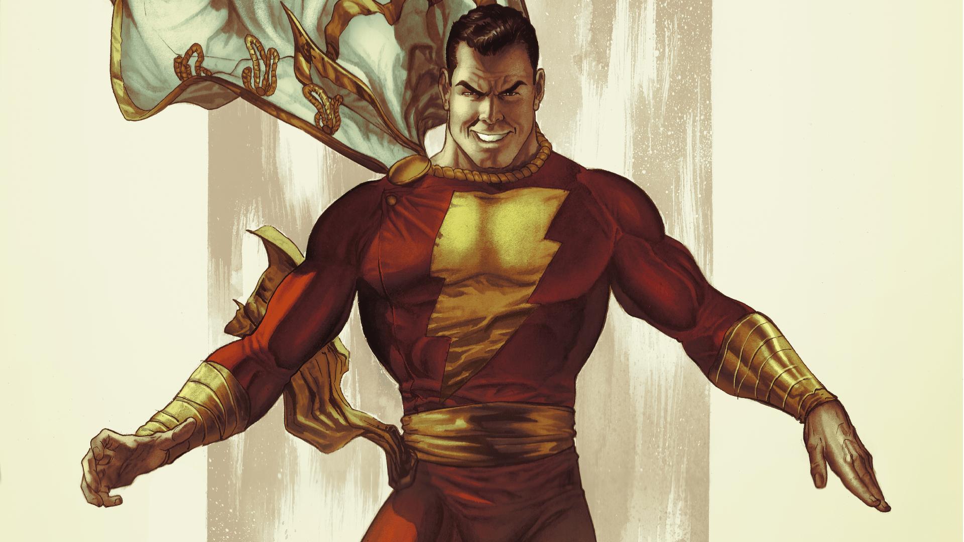 Captain Marvel Billy Batson Shazam DC