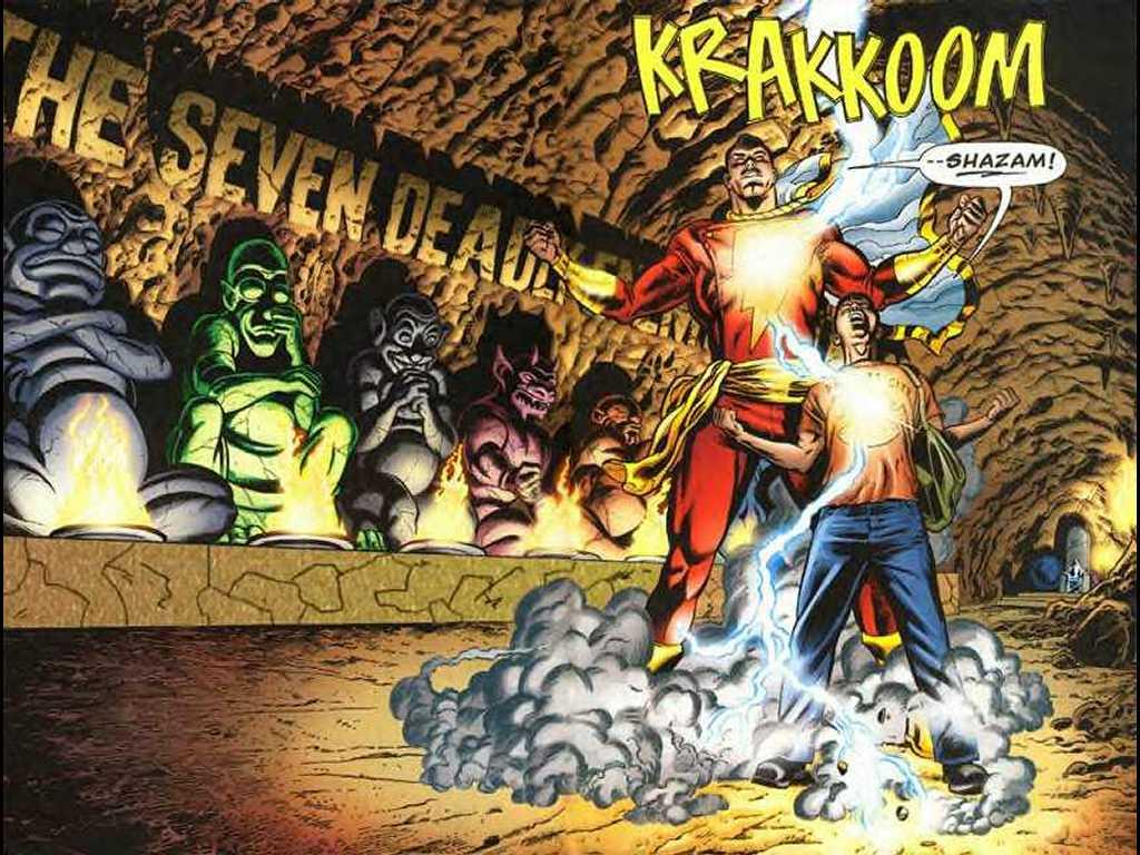 DC Heroes Phreek Shazam