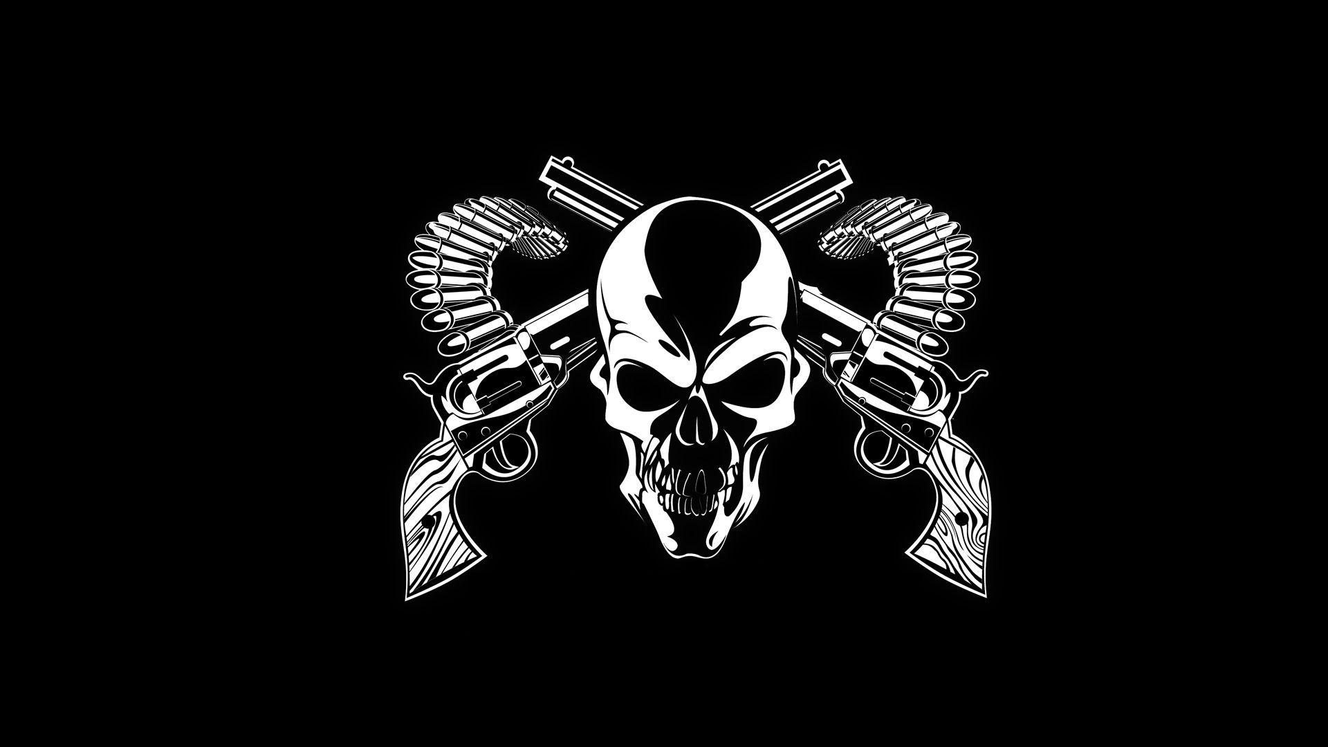 Gangster Skull Wallpapers Hd Wallpaper Cave