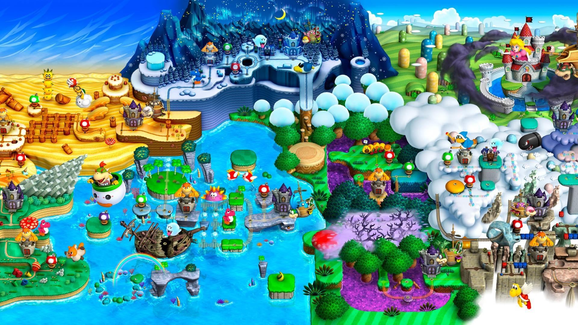 Super mario world map wallpapers wallpaper cave super mario world map wallpaper 73806 gumiabroncs Image collections