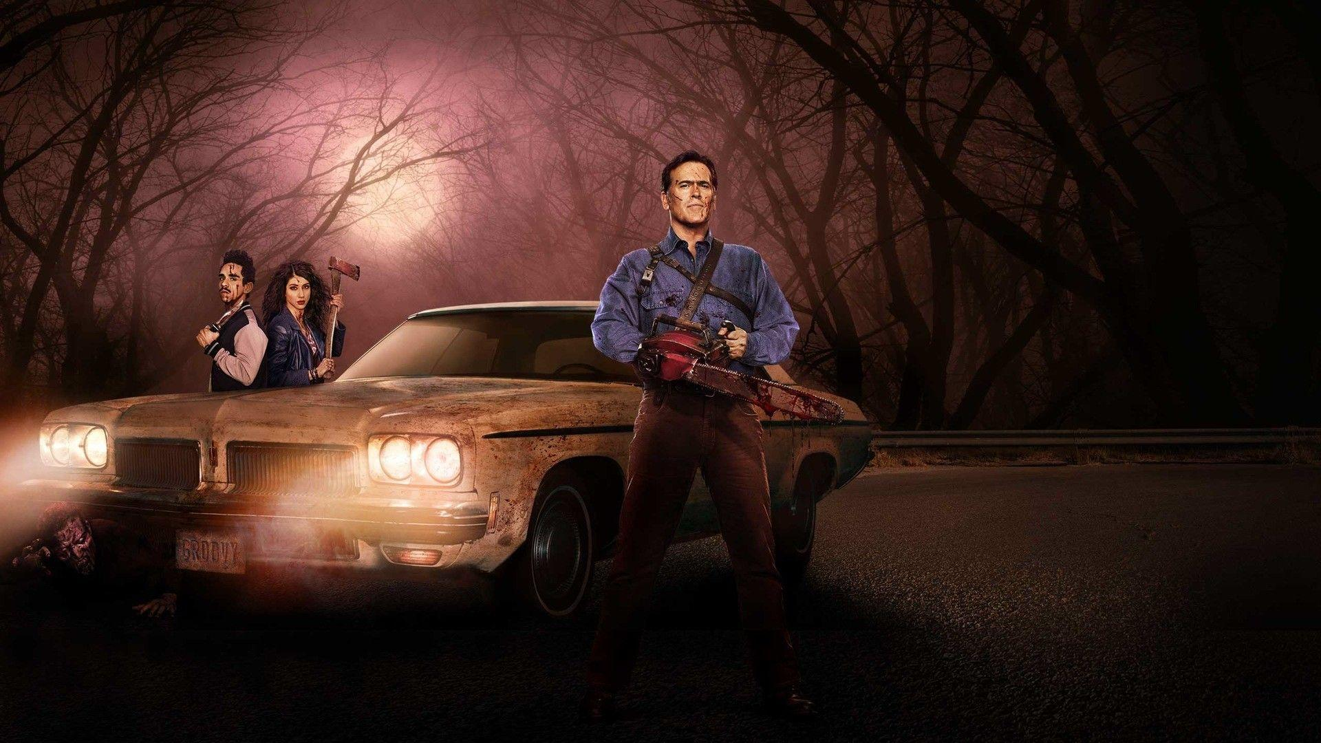 Ash Vs Evil Dead Wallpapers Wallpaper Cave