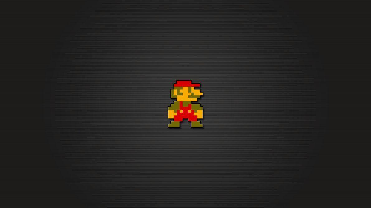 Super Mario 8 Bit Wallpapers Hd Wallpaper Cave