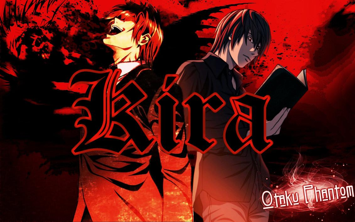 Death Note Wallpapers Kira Wallpaper Cave
