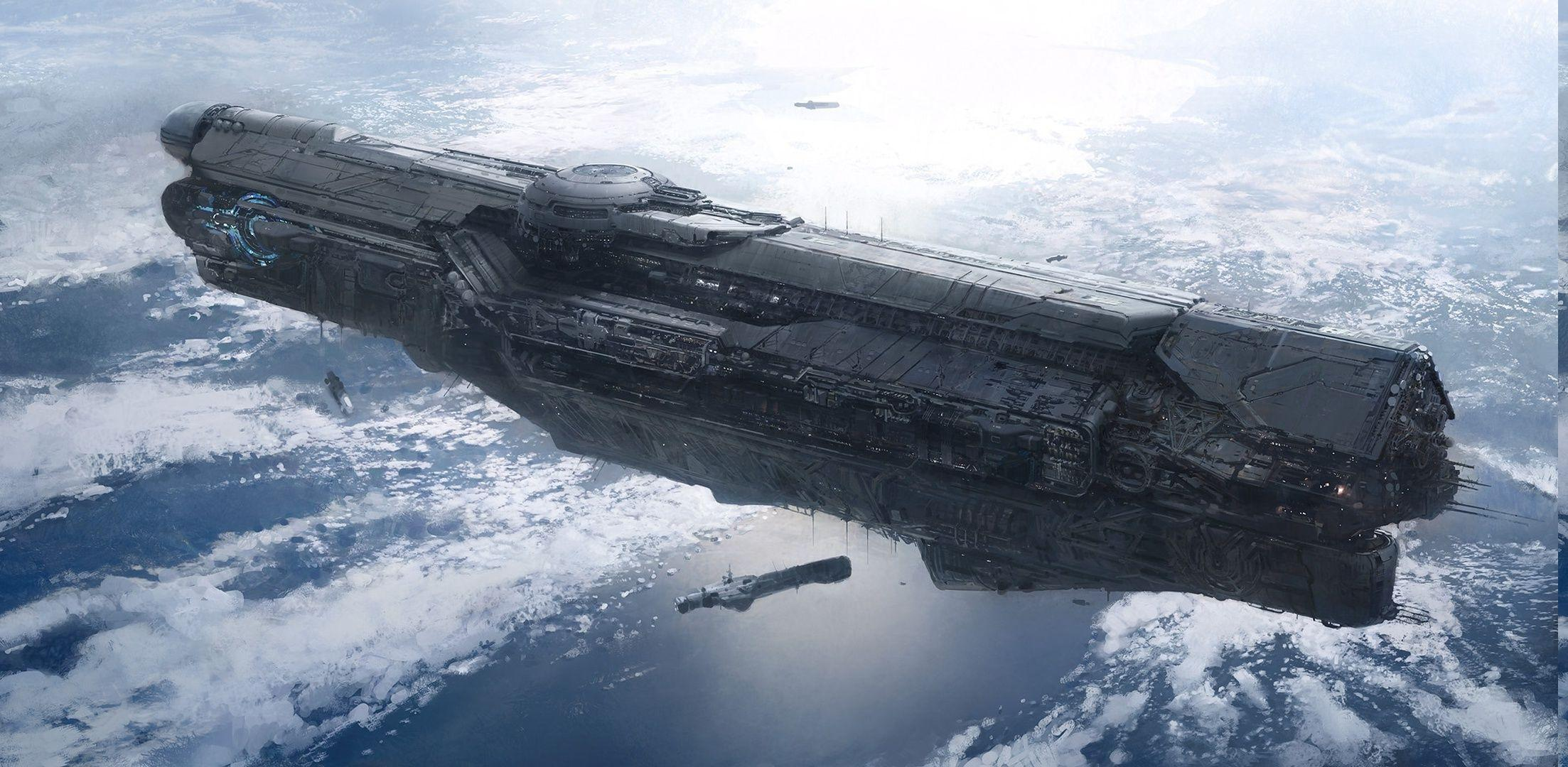 Unsc Infinity Wallpapers Wallpaper Cave