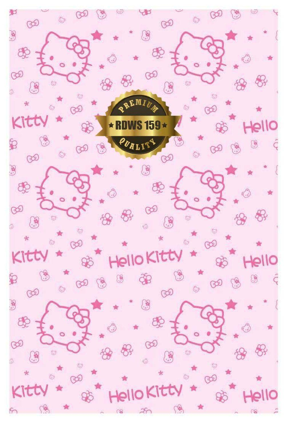 Jual PROMO Wallpapers Dinding lucu Hello Kitty Pink rdws