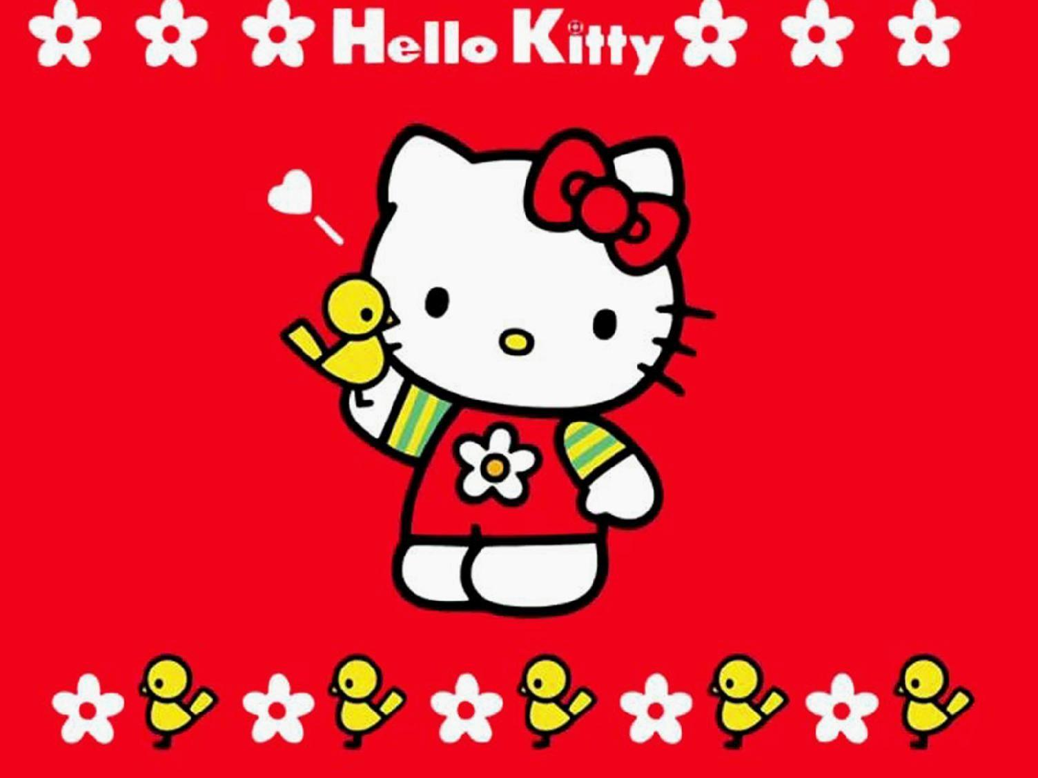 Image for Hello Kitty Wallpapers HD Merah Lucu