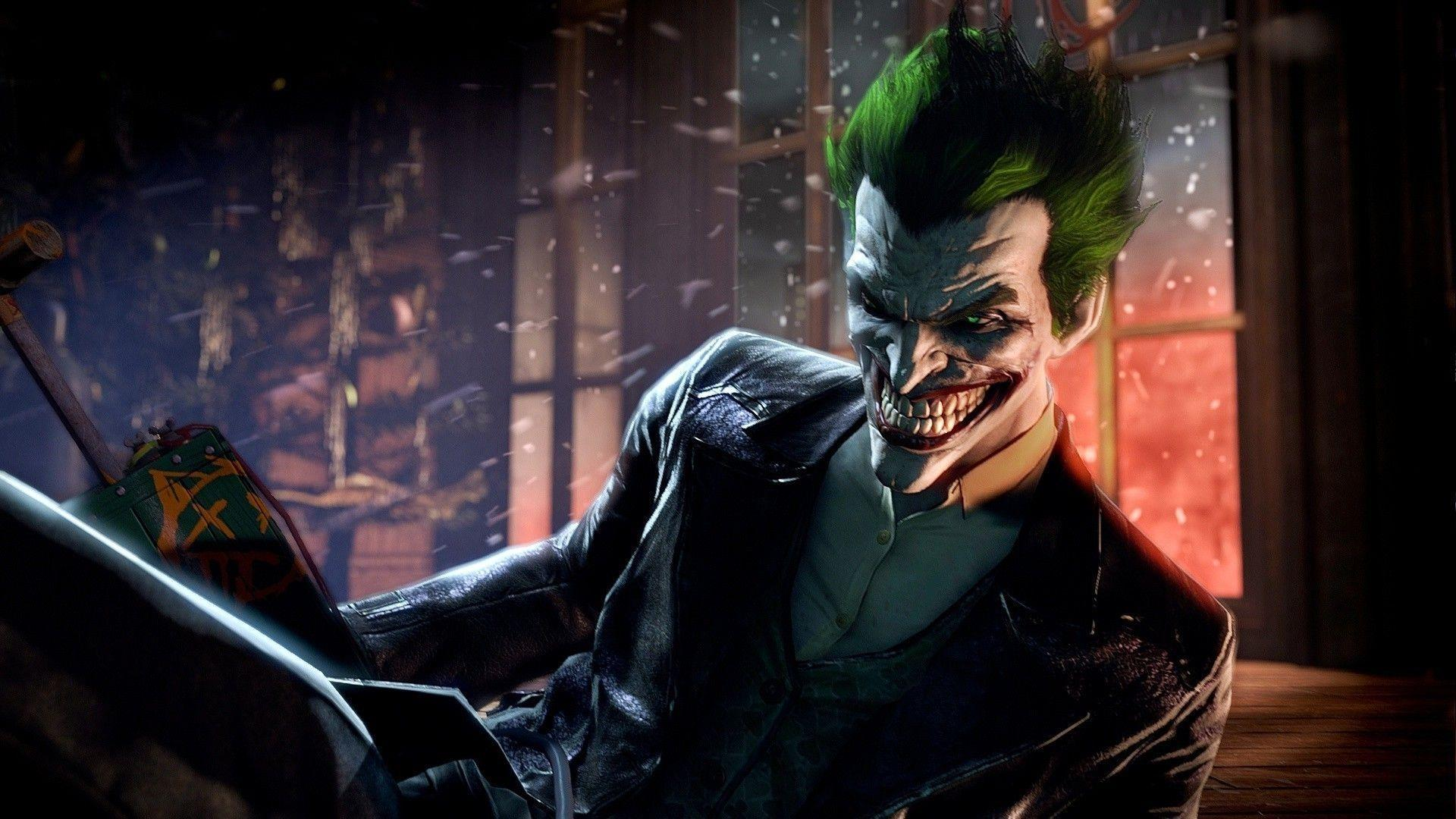 Batman Arkham Origins Joker Hd Wallpapers Wallpaper Cave