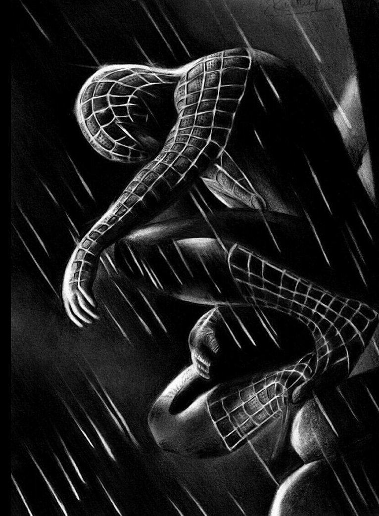 Black Spiderman Iphone Wallpapers Wallpaper Cave