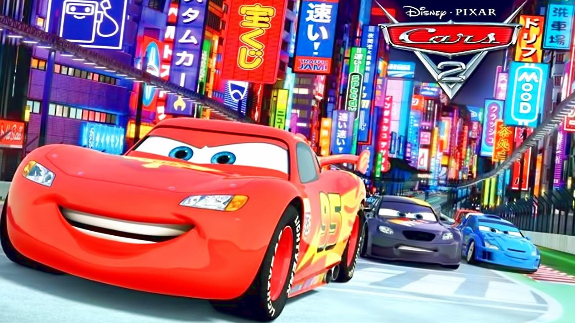cartoon cars mcqueen lightning wallpapers mater racing disney race tow backgrounds epic toy pixar windows lighting widescreen