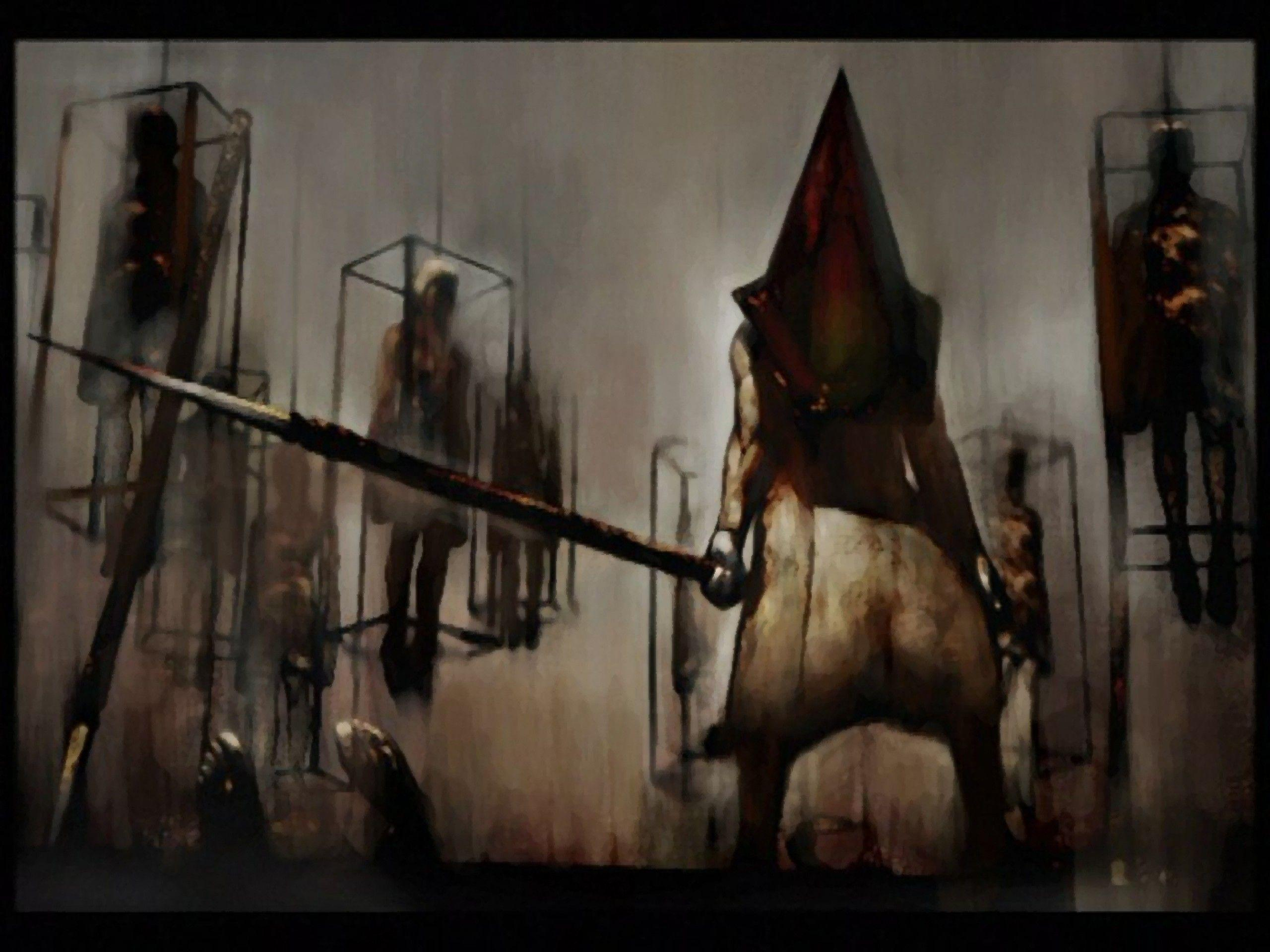 Silent Hill 2 Pyramid Head Wallpapers Wallpaper Cave