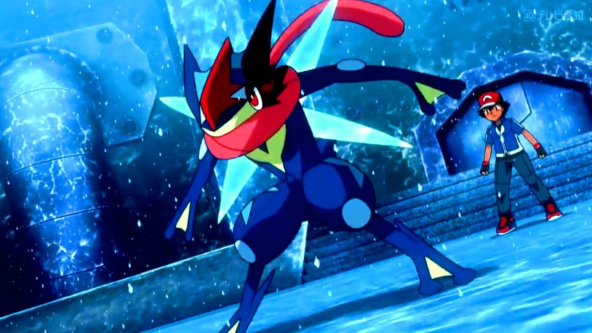Ash Greninja Wallpapers (70+ images)