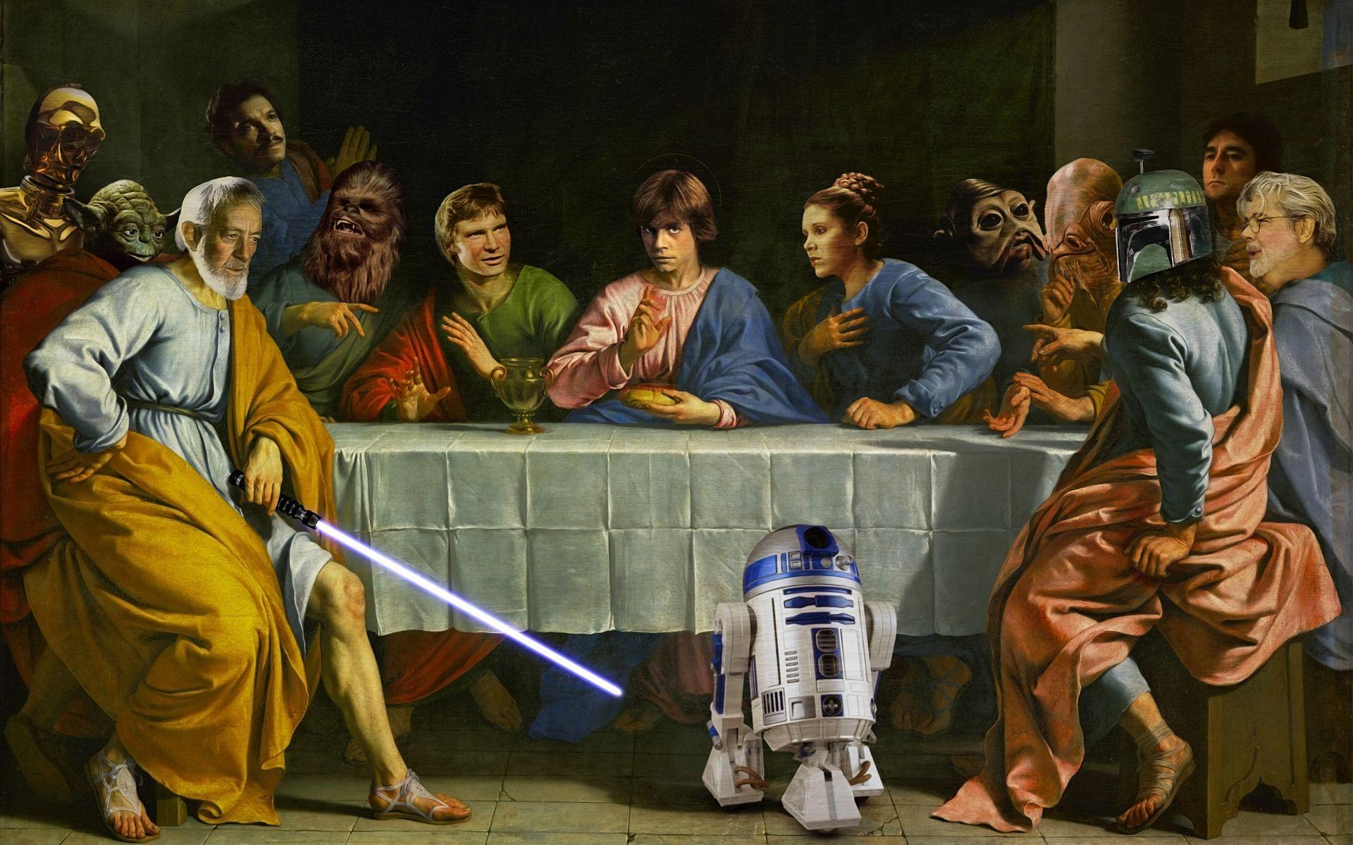 Star Wars Last Supper Wallpapers Wallpaper Cave