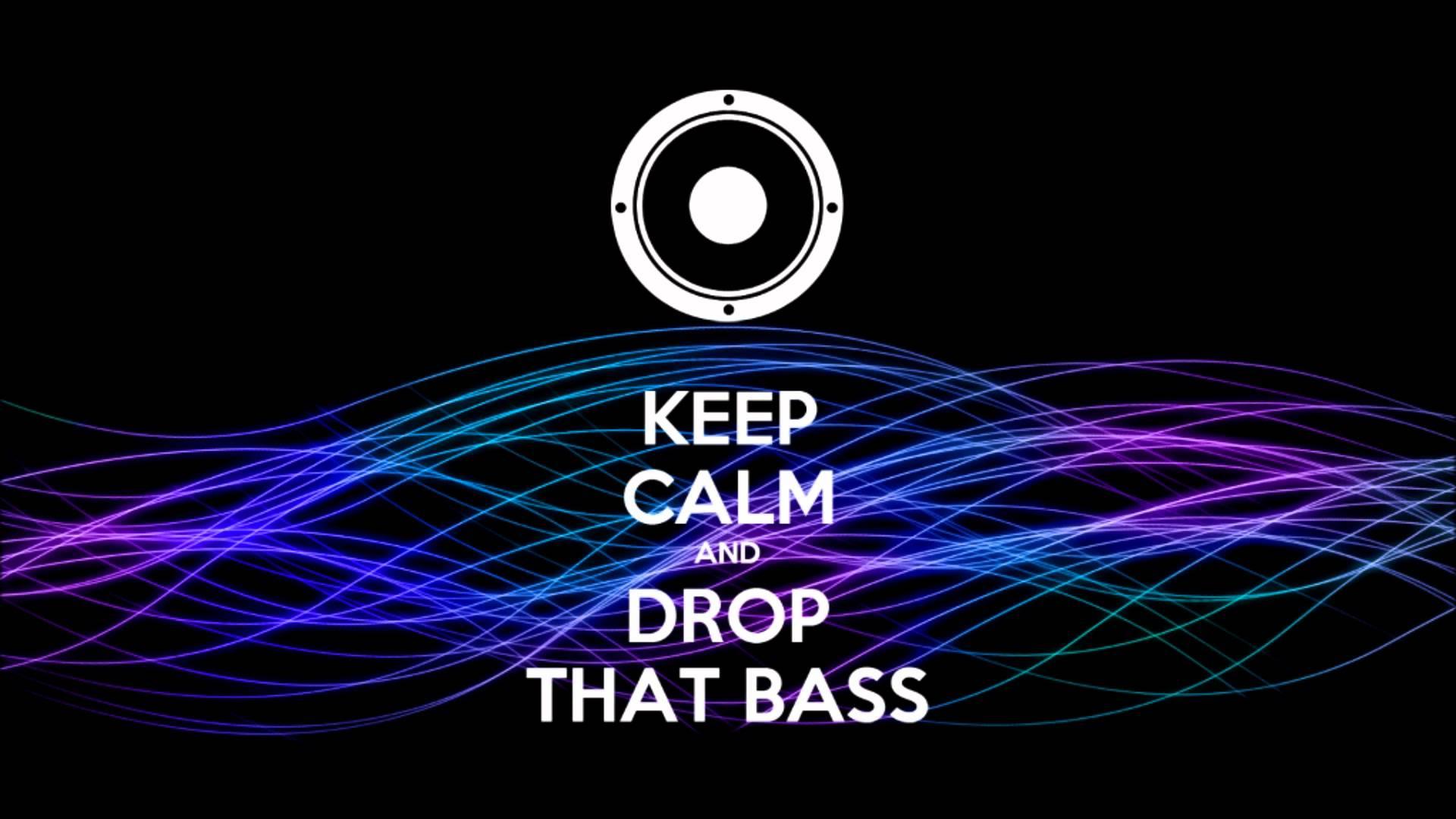 Keep Calm and Drop The Bass wallpaper | 1920x1080 | #9395