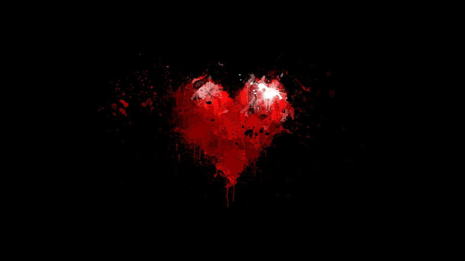344783f99ef Red and black backgrounds romantic wallpapers jpg 1600x900 Red black love