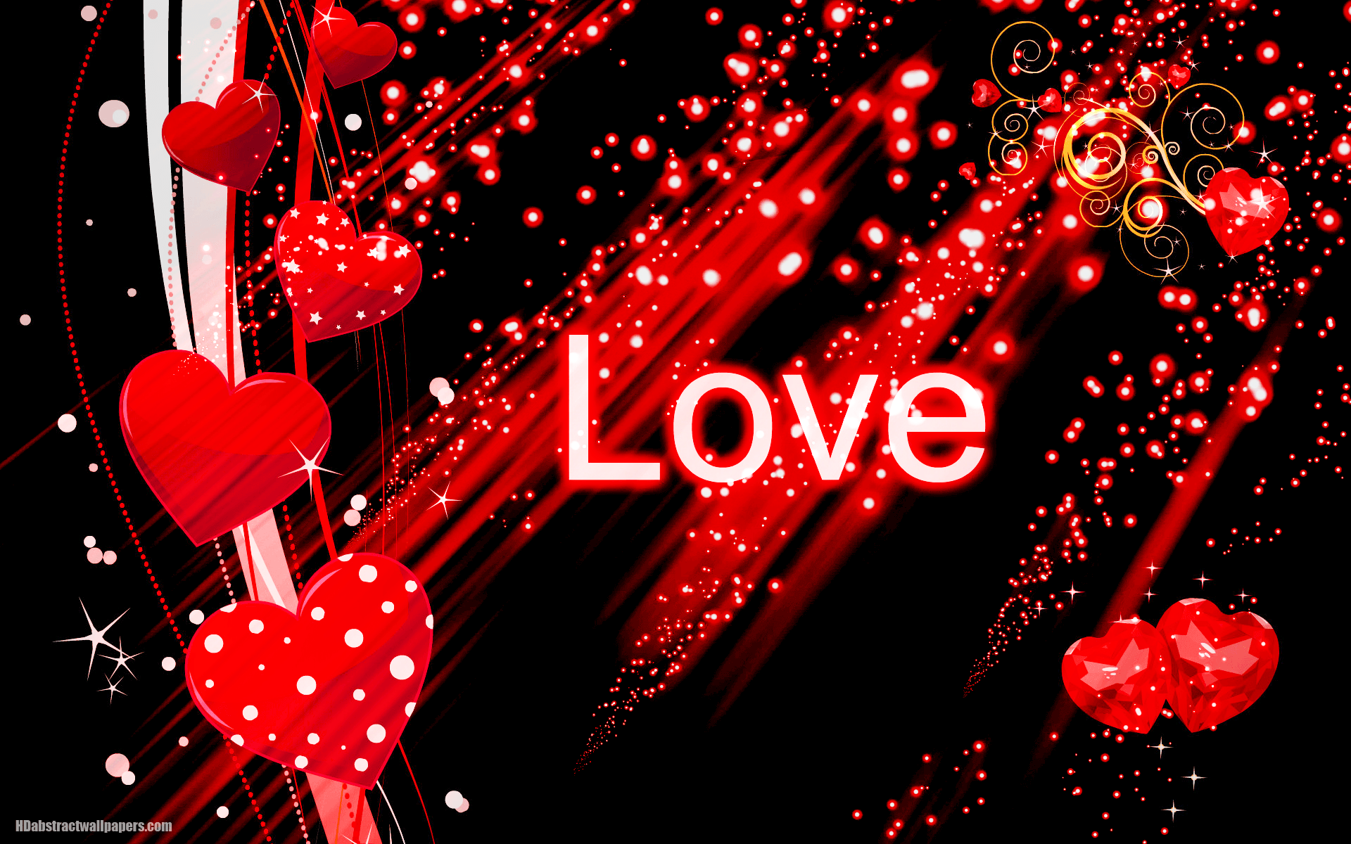 Red And Black Love Wallpapers Wallpaper Cave