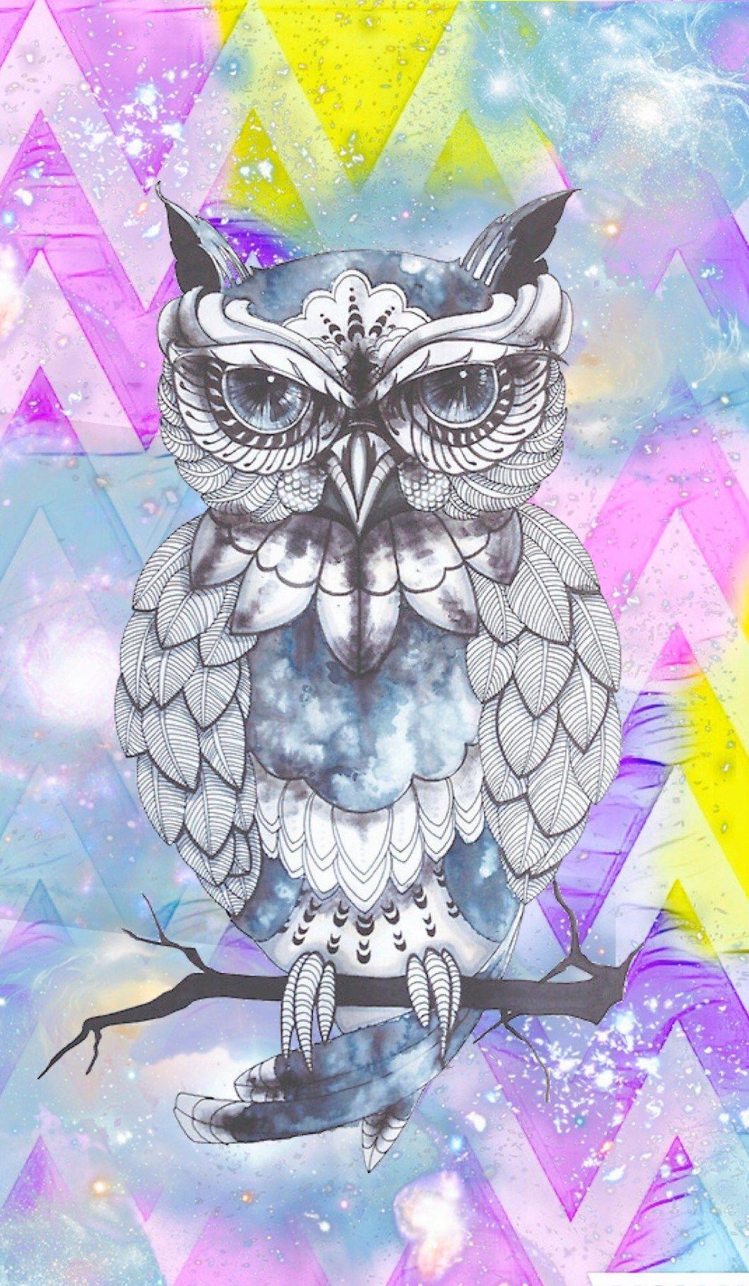 Girly Owl Wallpaper Wallpapergenk
