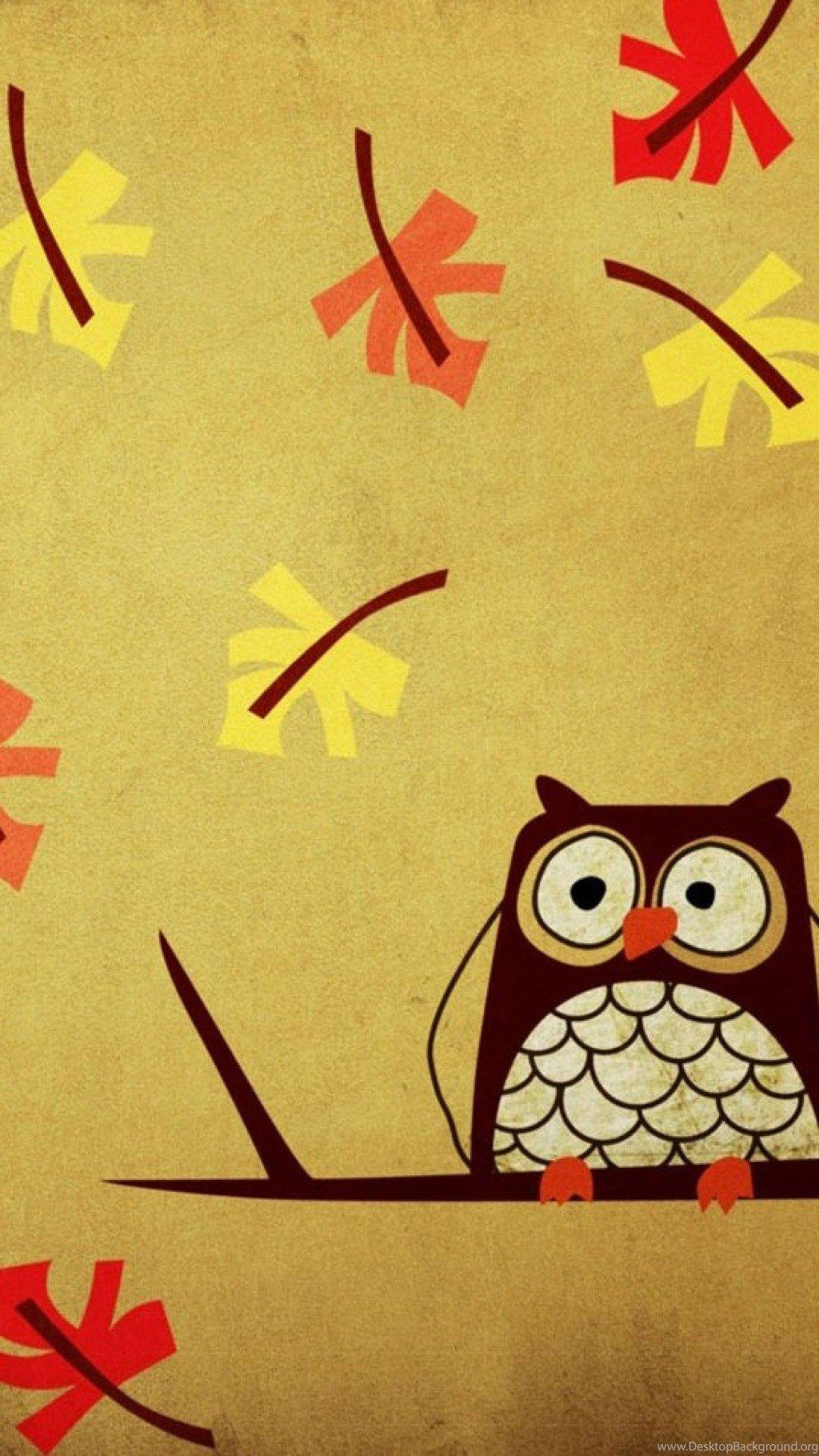 Cute Owl Wallpapers For Iphone Desktop Background Jpg 1024x1820 Girly Wallpaper