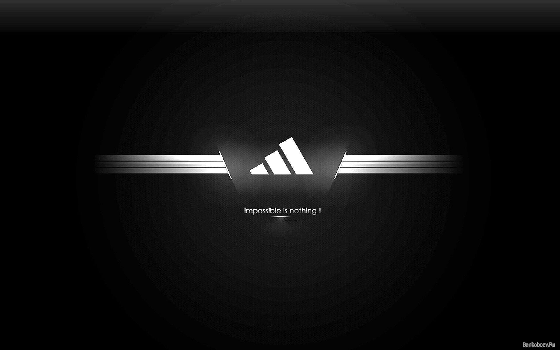 Adidas Wallpapers Black Wallpaper Cave