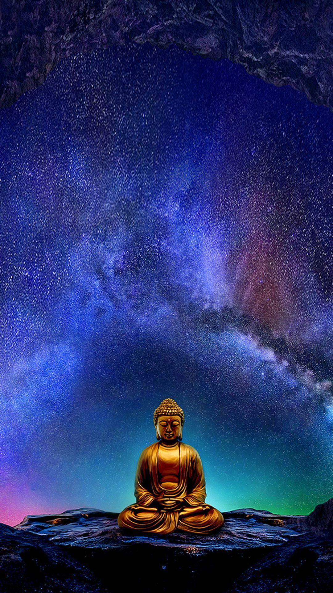 Buddha Wallpapers for Mobile Devices – Artwork by GoodVibesGallery