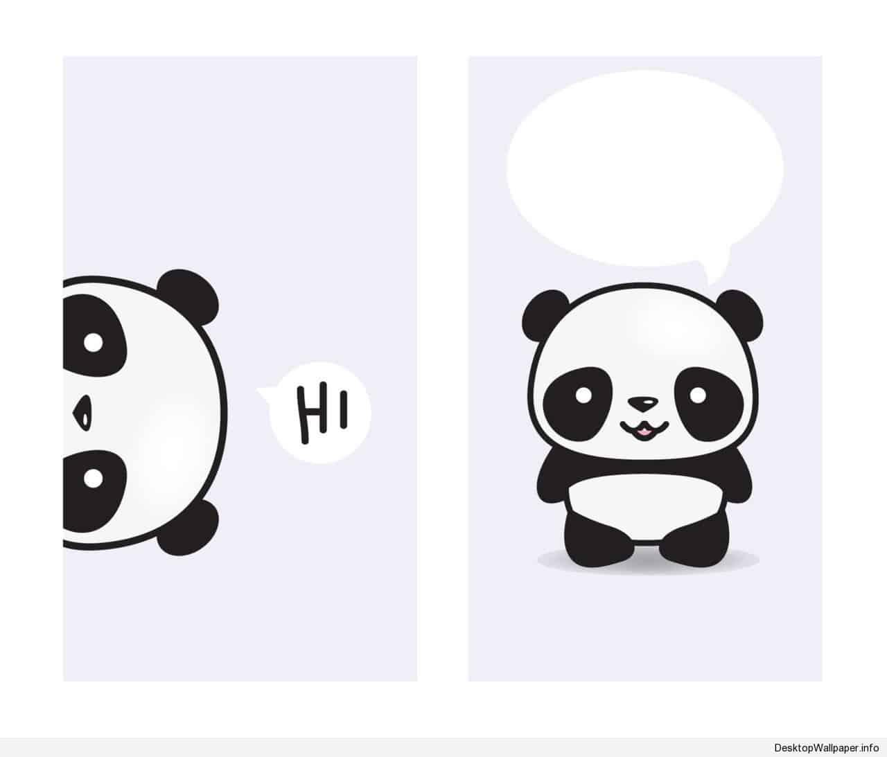 Wallpapers Panda Cartoon Wallpaper Cave