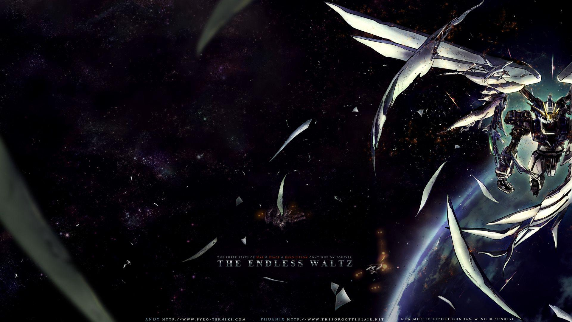 Gundam Wing Zero Wallpapers Hd Wallpaper Cave